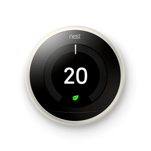 nest learning 3rd generation thermostat white